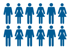 illustration de la population