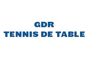 GDR tennis de table
